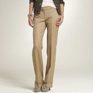 *NWT* J. Crew 1035 Trouser Pants Herringbone 8